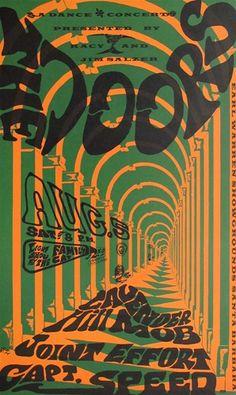 The Doors 1967 poster The Doors At The Earl Warren Showgrounds Original Concert Poster Vintage Rock Poster Poster Retro, Vintage Concert Posters, Poster Vintage, Poster Poster, Psychedelic Rock, Psychedelic Posters, Poster Sport, Rock Band Posters, Psy Art