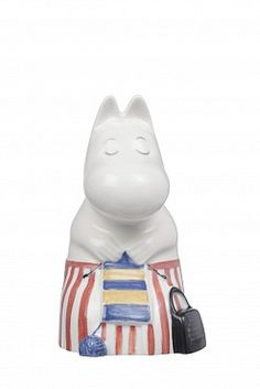 Moomin Mamma Figure China Porcelain Arabia Iittala Finland New Moomin Shop, Moomin Mugs, Favorite Cartoon Character, Comic Character, Tove Jansson, Draw On Photos, Scandinavian Interior Design, China Porcelain, Copenhagen
