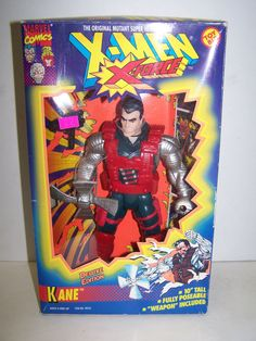 X-Men X-Force Deluxe Edition Kane