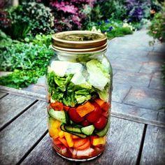 Salad in a Jar Recipes   POPSUGAR Fitness Photo 10