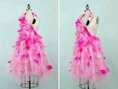 Rosa Flamingo Kostüm Avantgarde der 50er Jahre von WearTheCanvas …
