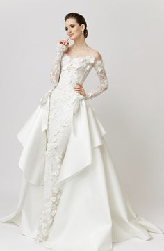 Featured Wedding Dress: VAMP MADOS NAMAI; www.vamp.lt; Wedding dress idea.