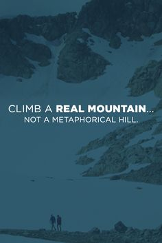 Sail across the ocean and find your next challenge. What mountain do you dream of climbing?