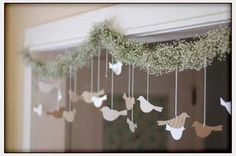 Decorations, Cute Christmas Garland: DIY Wedding Decoration Ideas for Unique One