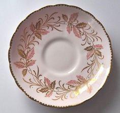 Vintage Tuscan Tea Cup and Saucer Bone China England Pink