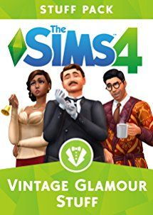 Amazon.com: The Sims 4 Vintage Glamour Stuff [Online Game Code]: Video Games