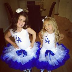 Dodgers game !! Sophia Grace and Rosie throwing the first pitch!