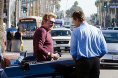 Johnny Hallyday, Francois Vincentelli a Los Angeles