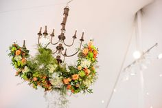 at home backyard summer Virginia wedding tent - Bellwether Events and Michelle Lindsay - Holly Chapple Flowers and Skyline Tent Company