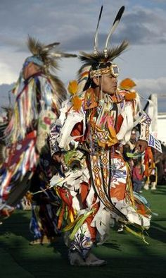 Pow wow on Blackfeet Reservation, MT