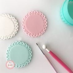 Cupcake toppers inspiration for polymer clay