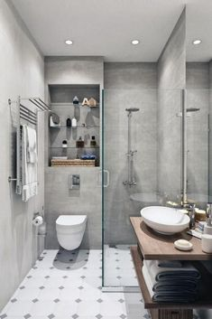 65 Small Bathroom Design Inspiration As A Reference For Your Small Bathroom Renovation - Making small renovations into a current bathroom is readily done. Ascertain what you would like to perform and decide the bathroom renovation price also. Guest Bathrooms, Upstairs Bathrooms, Budget Bathroom, Bathroom Storage, Bathroom Ideas, Basement Bathroom, Restroom Ideas, Downstairs Loo, Bathroom Vanities