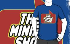 The Minifig Show T-shirt by Bubble-Tees.com by Bubble-Tees