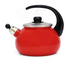 Czajnik emaliowany czerwony 2L Alda Kettles, Kitchen Appliances, Tea, Diy Kitchen Appliances, Home Appliances, Kitchen Gadgets, Teas