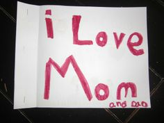 Who Do You Love? by Tamara S. from Minden, WV.  Never has a font size expressed an opinion more clearly. via The Ellen Degeneres Show #Moms