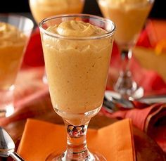 Healthy Pumpkin Mousse-is an, easy, quick, no-cook recipe for a dessert or treat. It is also a low calories, low fat, low sugars, low cholesterol, low sodium, low carbohydrates, heart-healthy, diabetic-friendly and Weight Watchers (2) PointsPlus recipe. A great option for Thanksgiving and Christmas dinner options. Makes 12 servings.
