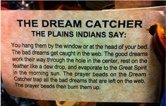 dreamcatcher prayer | History | Emily's Dream Catchers