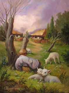 20 Incredible Optical Illusions Oil Paintings By Oleg Shuplyak | HDpixels - High Definition Picture Elements