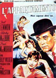 L'appartamento con Jack Lemon, Shirley Mc Laine