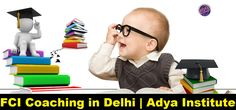 FCI Coaching in Delhi   Adya Institute  Looking for FCI Coaching in Delhi, you have reached the right place! At Adya Institute, we have knowledgeable teacher faculty to guide you and help you to pursue coaching of Food Corporation of India. For more information about our FCI Coaching call us at +91-8527499704 or visit www.adyainstitute.com.