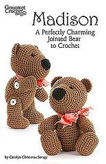 Ravelry: Madison: A Perfectly Charming Jointed Bear to Crochet pattern by Carolyn Christmas