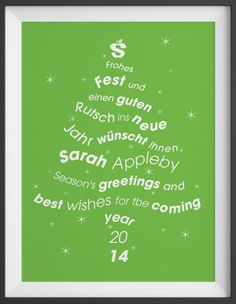 Season's Greetings (Copyright Sarah Appleby Translation)