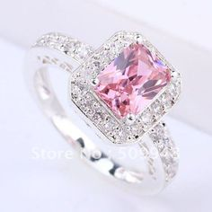 Pink Diamond Jewelry - rare and expensive, how much do they cost? Pink Jewelry, Jewelry Accessories, Jewlery, Gold Jewellery, Pink Love, Pretty In Pink, Rosa Ring, Ring Verlobung, Diamond Are A Girls Best Friend