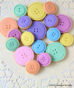 button cookies-there are many of them...look up button cookies for more