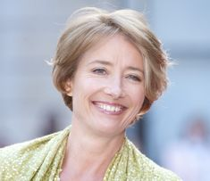 I LOVE HER!>  When asked if 50 is the new 35, 55-year-old Emma Thompson replied: 'Can I just say, very loudly, bollocks! Not to recognise getting older for what it is... I do think the infantalisation of our generation is one of the human issues of our time. People wanting to be 35 when they're 50 makes me think: Why? Why don't you be 50 and be good at that?'