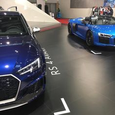 squad: new Navarra blue and Spyder at - BI-Turbo - - - - / ---- oooo - what else ---- . Audi Q, Rs 4, Squad, Supercars, German, Blue, Instagram, Deutsch, German Language