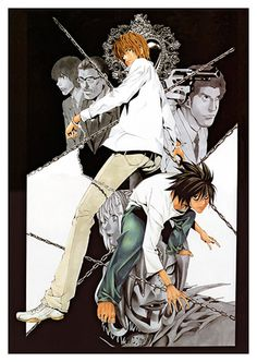 Death Note Anime Poster, available at 45x32cm. This poster is printed on matt coated 350 gram paper.