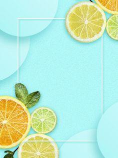 Poster Background Design, Collage Background, Paint Background, Background Templates, Background Images, Lemon Background, Fond Design, Fruit Combinations, Watermelon And Lemon