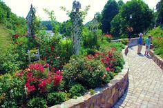 Lake Lure Flowering Bridge in North Carolina