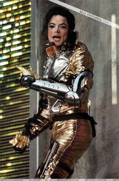 The only person who can rock gold pants!