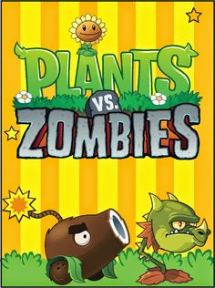 Plants vs Zombies: Free Printable Cards or Invitations. Free Printable Birthday Invitations, Free Printable Cards, Printable Invitation Templates, Printables, Plants Vs Zombies, Zombies Vs, Zombie Birthday Parties, Zombie Party, 10th Birthday