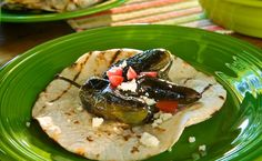 Chiles Toreados - roasted chiles #mexicanfood