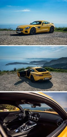 What a view! The #Mercedes-AMG GT S captured by Bas Fransen. [Mercedes-AMG GT S | combined fuel consumption 9.6-9.4 l/100km
