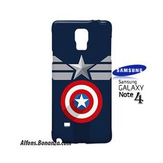 Clothes Captain America Samsung Galaxy Note 4 Case