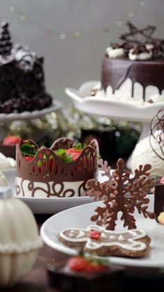 Cookie Decorating, Cake Decorating Piping, Korean Street Food, Tiny Food, Chocolate Cups, Christmas Candy, Cake Art, Food Art, Food Videos