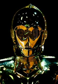 C-3PO, sometimes spelled See-Threepio and often referred to as Threepio, was a bipedal, humanoid protocol droid designed to interact with organics, programmed primarily for etiquette and protocol. He was fluent in over six million forms of communication, and developed a fussy and worry-prone personality throughout his many decades of operation.