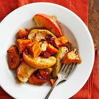 Apple-Buttered Sweet Potatoes Recipe