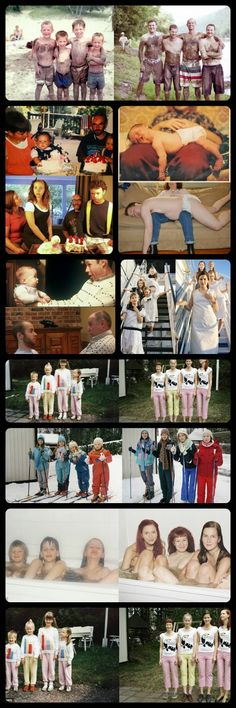 Would you recreate any of these? Honeybee Photography: Recreating Childhood Photos | Photography Trend