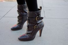 These Moschino boots are killing me
