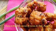 Here is the recipe to make this famous Caribbean aperitif. It's especially delicious when the cod fritters are crispy! Haitian Food Recipes, Cuban Recipes, Shrimp Fritters, Appetizer Recipes, Appetizers, Vegan Junk Food, Vegan Sushi, Cod Recipes, Island Food