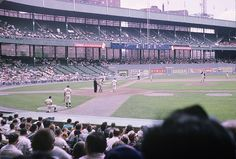 Polo Grounds - history, photos and more of the New York Giants former ballpark New York Stadium, Stadium Tour, Shea Stadium, Yankee Stadium, Baseball Park, Baseball Field, Giants Baseball, New York Mets, New York Giants