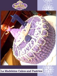 My Little Sofia The First Cake