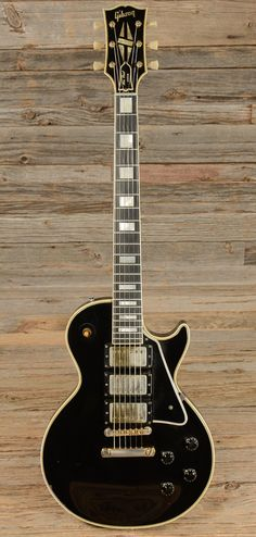 1957 Gibson Les Paul Custom Black Beauty