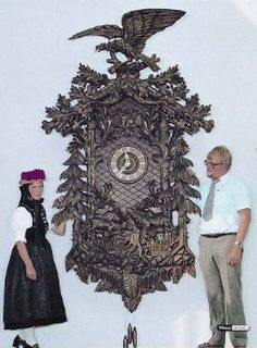 Amazon.com: German Cuckoo Clock 8-day-movement Carved-Style 118 inch - Authentic black forest cuckoo clock by Anton Schneider: Home & Kitchen