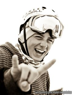 Extremely attractive pro snowboarder. Mark McMorris