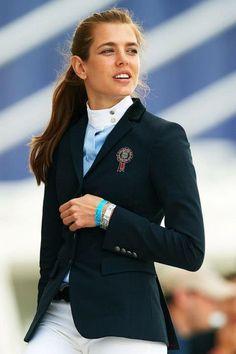 Charlotte Casiraghi equestrian style